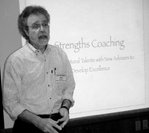 Ferentinos leads session on Strengths Coaching