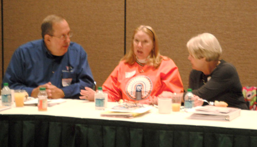 JEA Mentor Forum, JEA/NSPA convention, small group activity