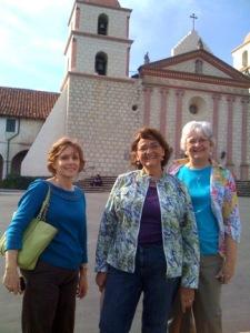 JEA mentors, mission in Santa Barbara