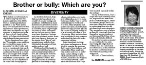 Norma Kneese Diversity column