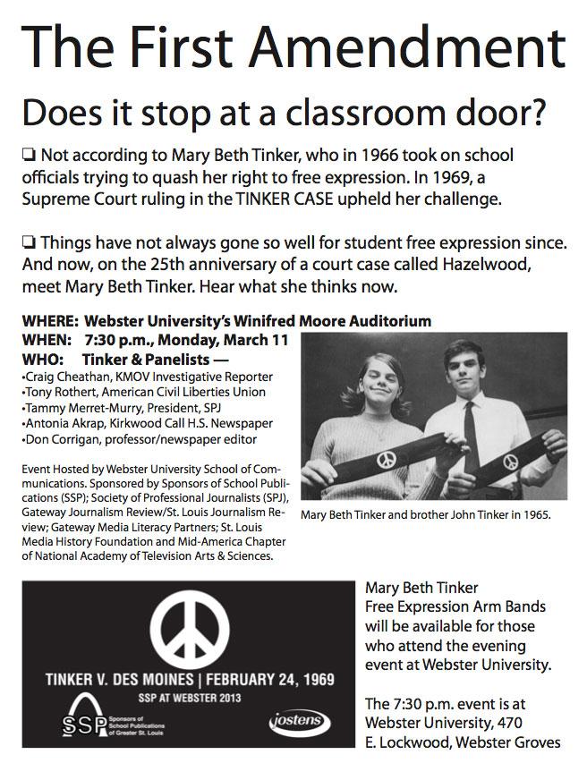Tinker v. Des Moines Independent Community School Dist.