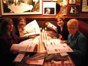 Julie Dodd, Kathy Schrier, Marilyn Chapman and Janice Hatfield. Photo by Judy Robinson