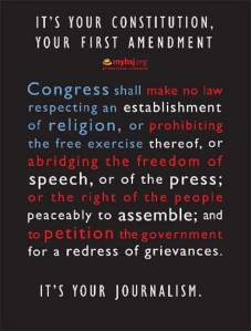 hsj.org First Amendment poster
