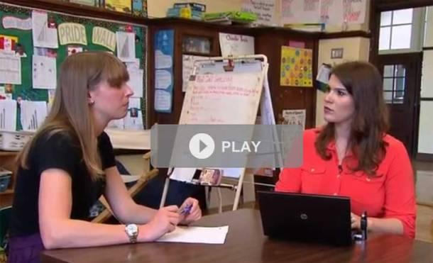 PBS segment on New Teacher Center's mentoring program