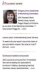 JEA news