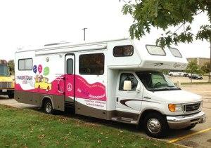 Tinker Tour bus at KEMPA