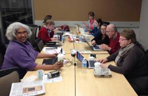 Principals-Guide work session at Center for Scholastic Journalism, Kent State University