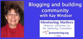 Watch 'Blogs and Building Community' webinar