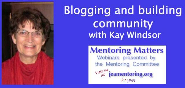 Webinar - Blogging and Building Community