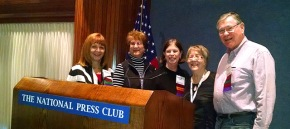 JEA mentors attend luncheon at National Press Club