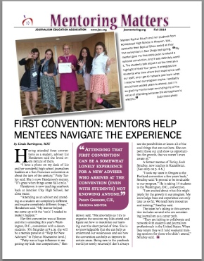 Mentoring Matters for Fall 2014