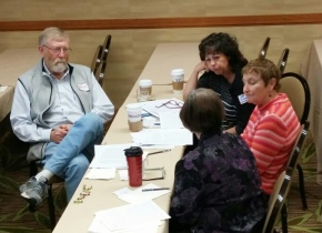 Mentor Forum provides full day of training and sharing