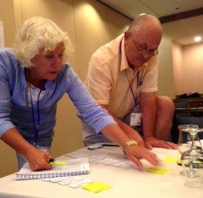 New mentors training at JEA Advisers Institute in LasVegas