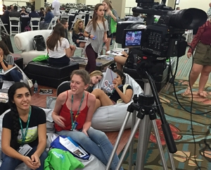 Jessica Young's students at Orlando convention